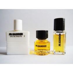 Lot de 3 miniatures de parfum Jil Sander