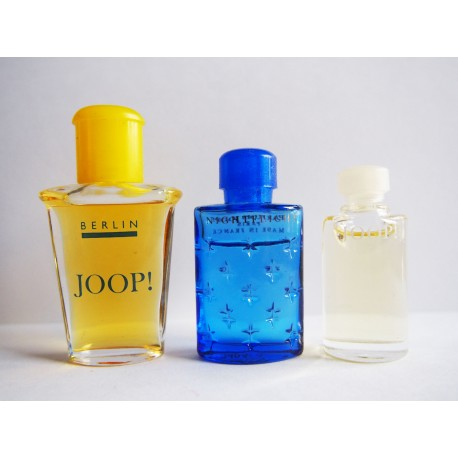 Lot de 3 miniatures de parfum Joop!