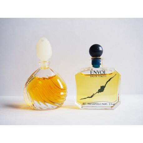 Lot de 2 miniatures de parfum Ted Lapidus