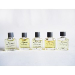 Lot de 5 miniatures de parfum Silences de Jacomo
