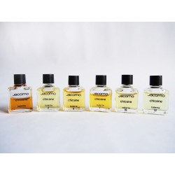 Lot de 6 miniatures de parfum Chicane de Jacomo