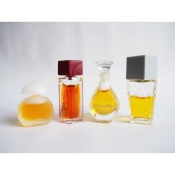 Lot de 4 miniatures de parfum Houbigant