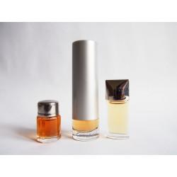 Lot de 3 miniatures de parfum Calvin Klein