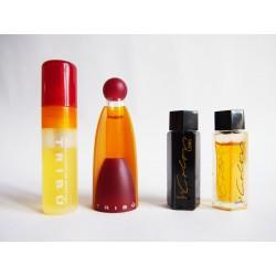 Lot de 4 miniatures de parfum Benetton