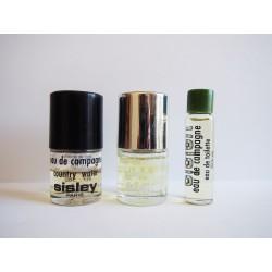 Lot de 3 miniatures de parfum Eau de Campagne de Sisley
