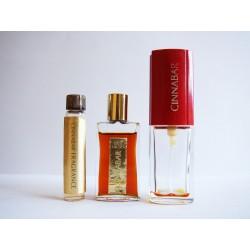 Lot de 3 miniatures de parfum Cinnabar de Estée Lauder