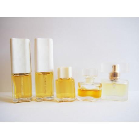 Lot de 5 miniatures de parfum White Linen de Estée Lauder