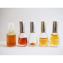 Lot de 5 miniatures de parfum Estée de Estée Lauder