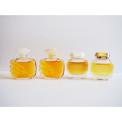 Lot de 4 miniatures de parfum Beautiful de Estée Lauder