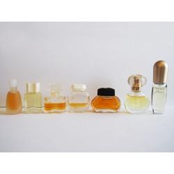 Lot de 7 miniatures de parfum Estée Lauder