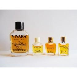 Lot de 4 miniatures de parfum Vivara de Pucci