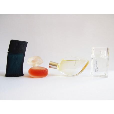 Lot de 4 miniatures de parfum Kenzo