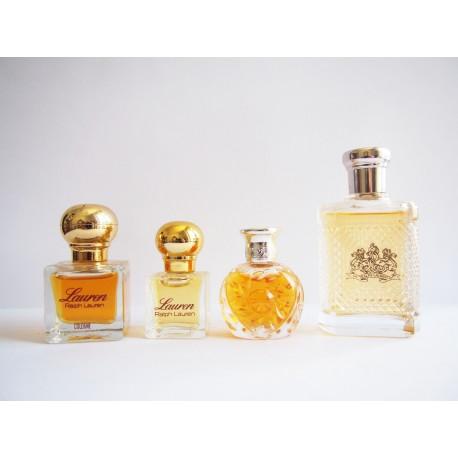Lot de 4 miniatures de parfum Ralph Lauren