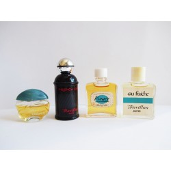 Lot de 4 miniatures de parfum Revillon