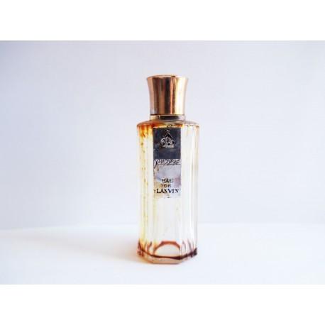 Ancien petit flacon de parfum Rumeur de Lanvin