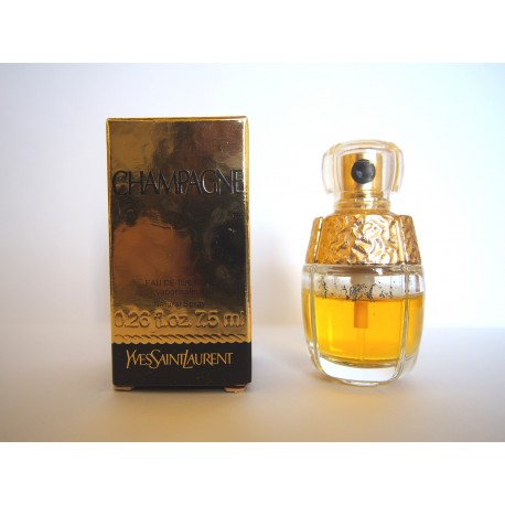 Miniature de parfum Champagne de Yves Saint Laurent