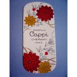 Ancienne carte parfumée Cappi de Cheramy