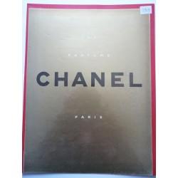 Ancienne publicité originale dorée Chanel 1949