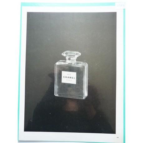 Ancienne publicité originale noir & blanc N°5 de Chanel 1947