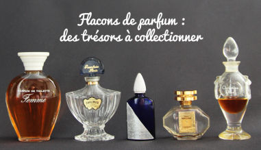 Fragrance bottles collector